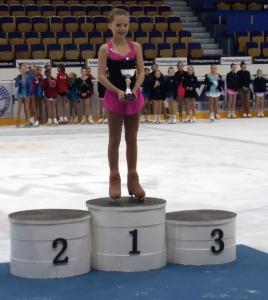 Sofie tok 1. plass