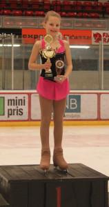 Sofie tok 1. plass_i Cubs